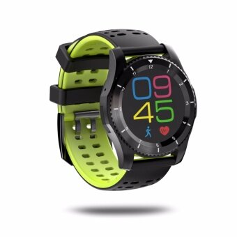 Betreasure GS8 Heart Rate Blood Pressure Monitor Smart Watch with GPS Trajectory Tracker Support SIM Card for Android and iOS Phone