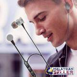 [BLACK] R-S01 Wireless Smart Sports Earphones - Bluetooth Rechargeable Earphone
