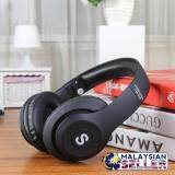 [BLACK] TM-028 Wireless Bluetooth Headset  Stereo/MP3/Headset