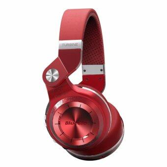 Bluedio T2+ Bluetooth 4.1 Headphones + EDR Wireless Stereo Capabilities + Mic + TF Card Support (Red)
