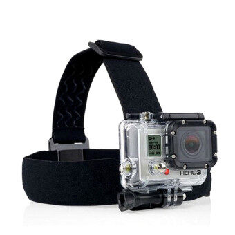 Camera Elastic Harness Head Strap Mount for Gopro Hero 5 4 3Session Xiaomi Yi 4K Eken H9 SJCAM SJ4000 SJ5000 GoPro Accessories