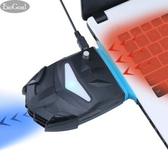 EsoGoal Laptop Fan Cooler Notebook Laptop Gaming Cooling Vacuum FanPad with USB Powered