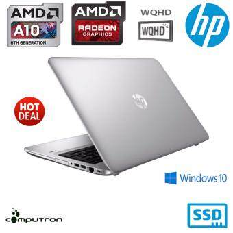 HP ELITEBOOK 745 (G3) ULTRABOOK WQHD 2K DISPLAY (8GBRAM/ 256GB SSD/ 500GB HDD)