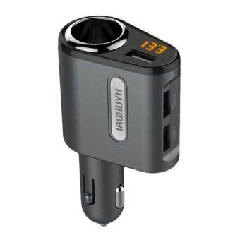 HYUNDAI Car Charger Cigarette Lighter Power Adapter Splitter With 3Power USB
