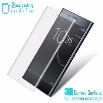 IMAK Full Screen Soft Tempered Glass Protector Film For Sony XperiaXZ Premium Soft Protector Film For Sony Xperia XZ Premium