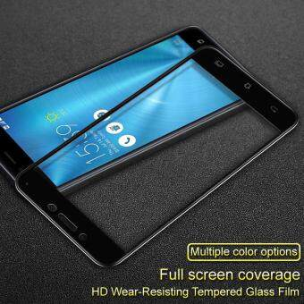 IMAK HD Full Coverage Tempered Glass Screen Protector for Asus Zenfone 3 Max ZC553KL - Black