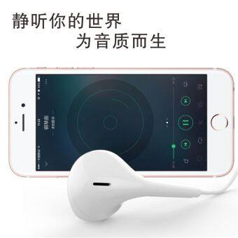 Iphone7s headset iPhone5/6/6 s Apple mobile phone universal heavy bass ear headphones iPad headset