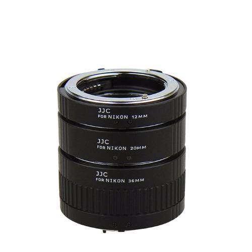 JJC AET-CS 12/20/36mm Auto Focus AF Macro Extension Tube Set for Canon EOS Rebel Camera
