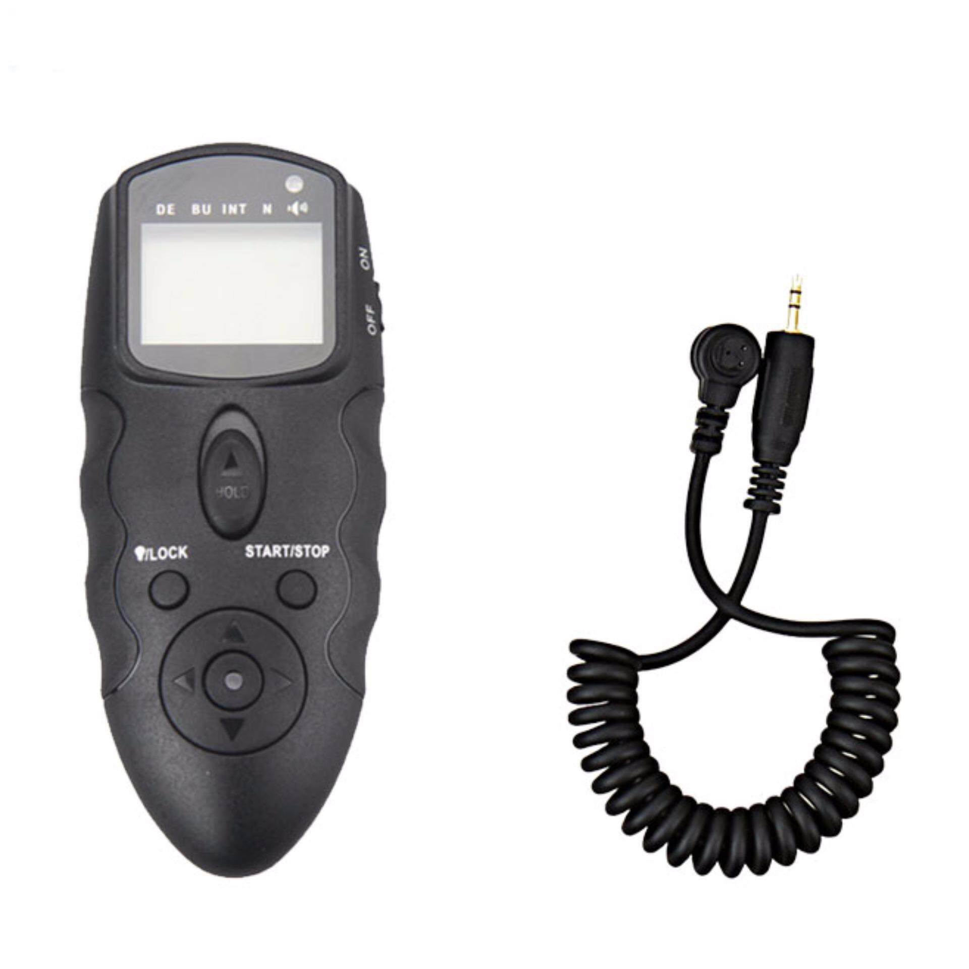 JJC MT-636 with Cable-B LCD Timer Remote for Camera Nikon D3 D4 D700 D800