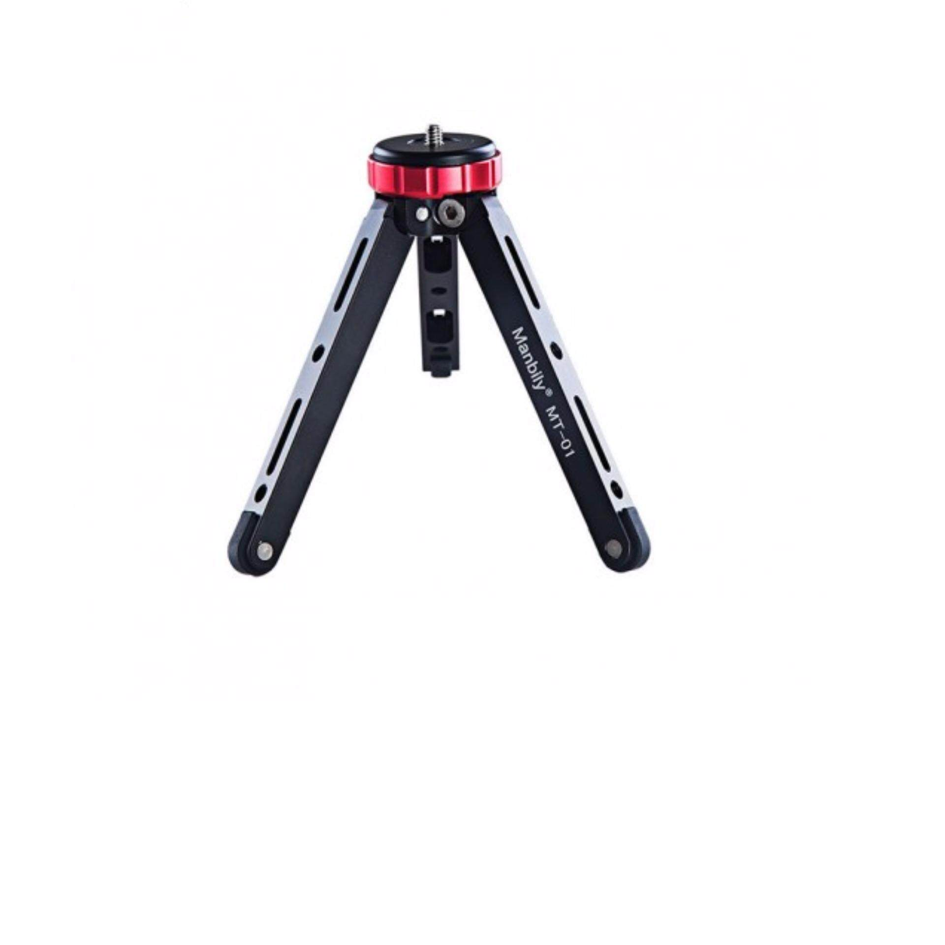 Manbily MT-01 Desktop Tripod Portable Tripod Mini Phone Stand