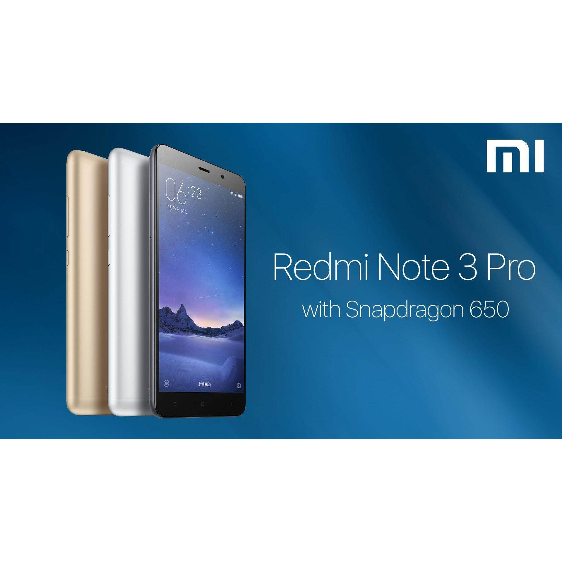 Original XIAOMI REDMI Note 3 PRO Snapdragon 16GB ROM 2GB RAM Import Set, 1 year warranty