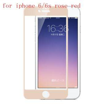 Rose Gold Full Cover Tempered Glass Screen Protector ProtectiveFilms