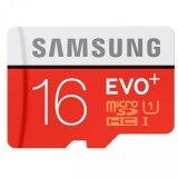 Samsung EVO Plus 16GB Class 10 Micro SDHC Card UP TO 80MB/S with Adapter