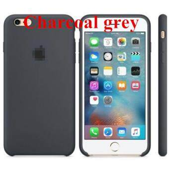 Silicone Protect Back Cover Case For Apple iPhone 6 / 6s (CharcoalGrey)