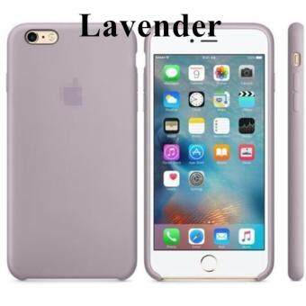 Silicone Protect Back Cover Case For Apple iPhone 6 / 6s (Lavender)