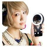 SOKANO New Generation Selfie Light from Japan (For front and back camera)- Black