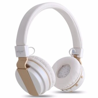 ZEALOT B17 Noise Cancelling Wireless Bluetooth Stereo HeadphoneSuper Bass Foldable EDR Headset With Mic Support TF FM (White)