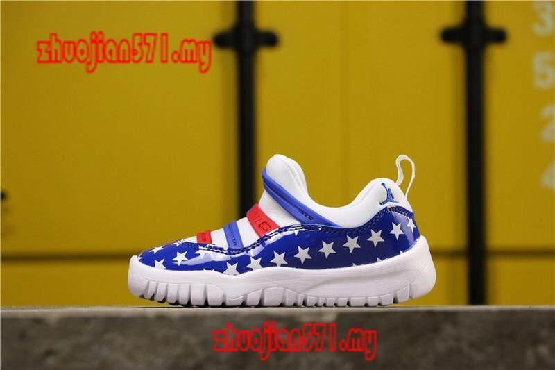 Mã Giảm Giá Khi Mua Original_Nike_Air_Jordan_11_Retro_Kids_Boys_Girls_Sports_Basketball_Shoes_Sneakers_AAJJ466