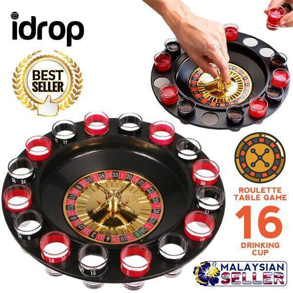 idrop Drinking Roulette Set - Table Game -