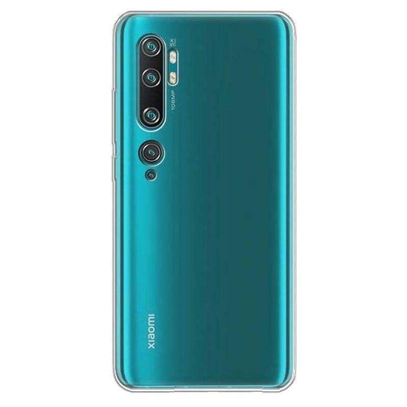 TPU Silicone Soft Gel Case for XIAOMI Mi CC9 Pro / Mi Note 10 / Mi Note 10 Pro (Transparent)