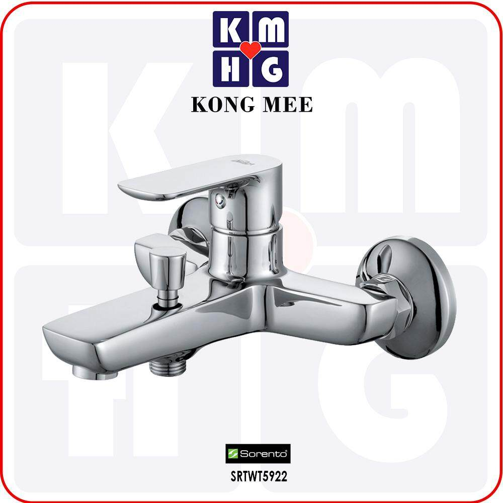 Sorento Italy - Wave 5800 Series Two Way Tap (SRTWT5858) Double Function Faucet Connect Bidet Connect Hose Water From Below Bathroom Toilet Washroom Home Living Plumbing Fixtures Furniture Modern Premium High Quality Long Lasting