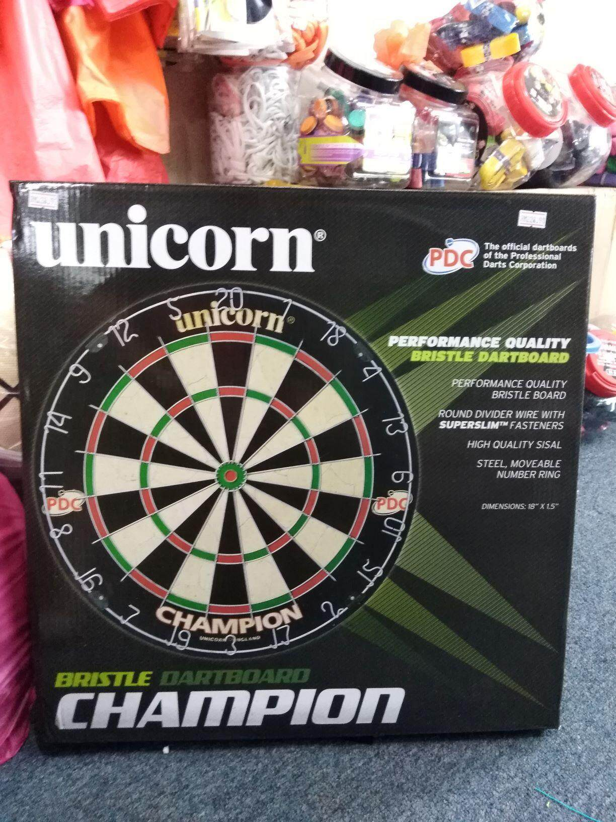 Unicorn Champion Britsle Dartboard