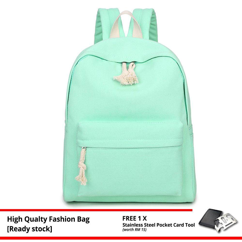 MV Bag Women Casual Backpack Laptop Beg Light Weight New Fashion Outfit Travel Bag 229 -MI2292