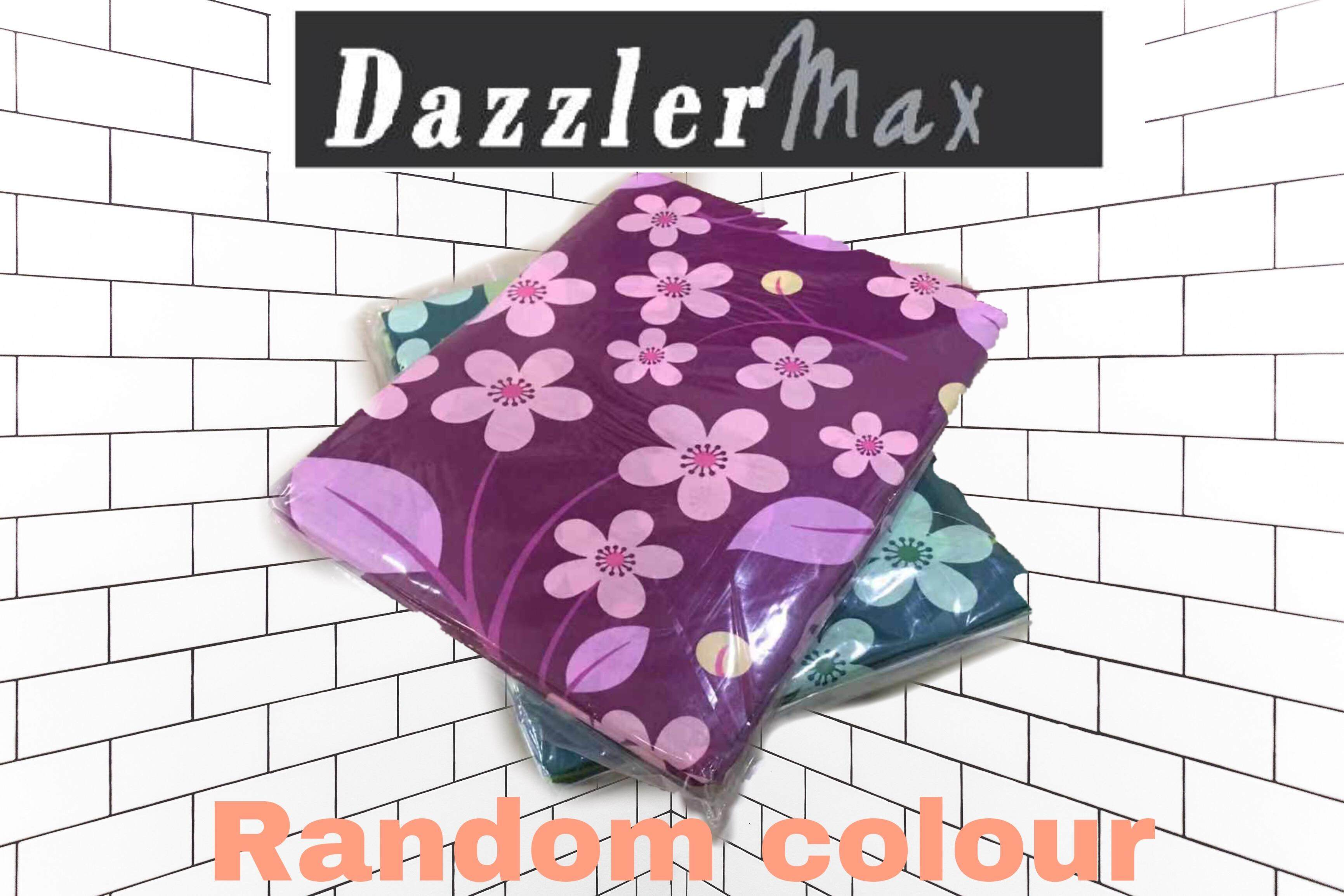 Dazzler Max Single Bed Sheet (Random Colour)