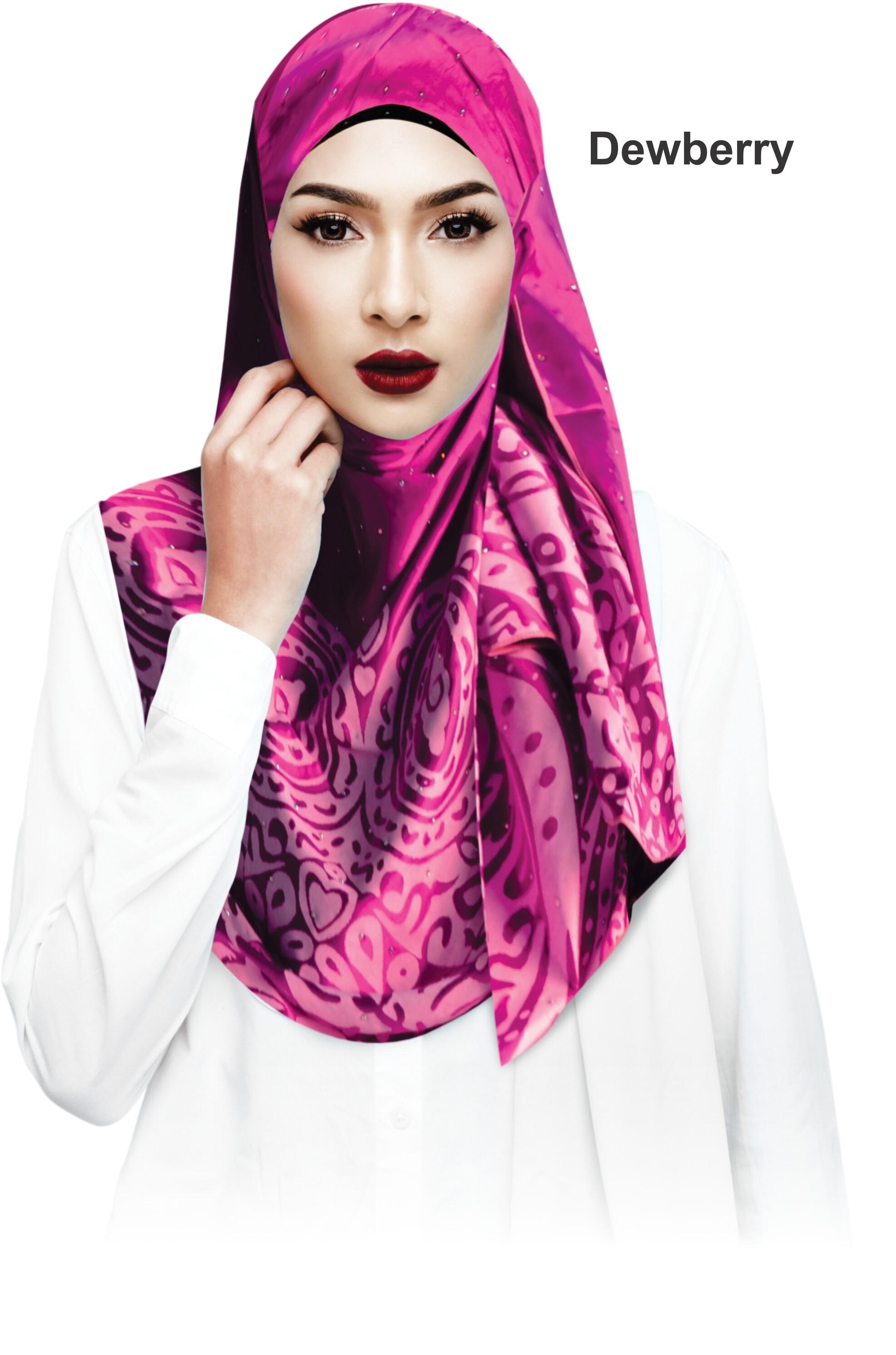 Sawks Hijab Long Shawl - Royal Glamour Pattern