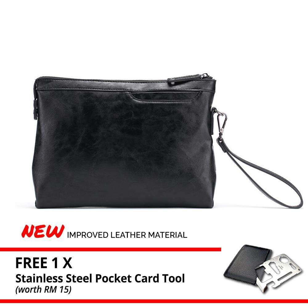MV Bag Leather Clutch Bag Pouch MEN WOMEN Famous Designer Bags Business Casual Purse Wallet Beg Handbag -MI1431