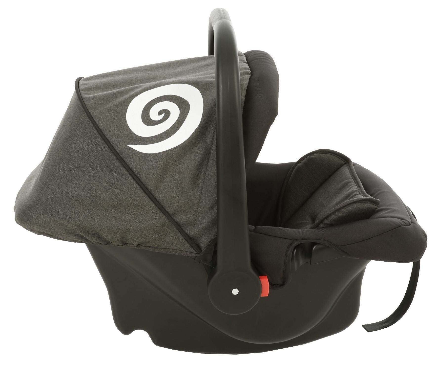 Akarana Baby Koru Car Seat Carrier Koru Black