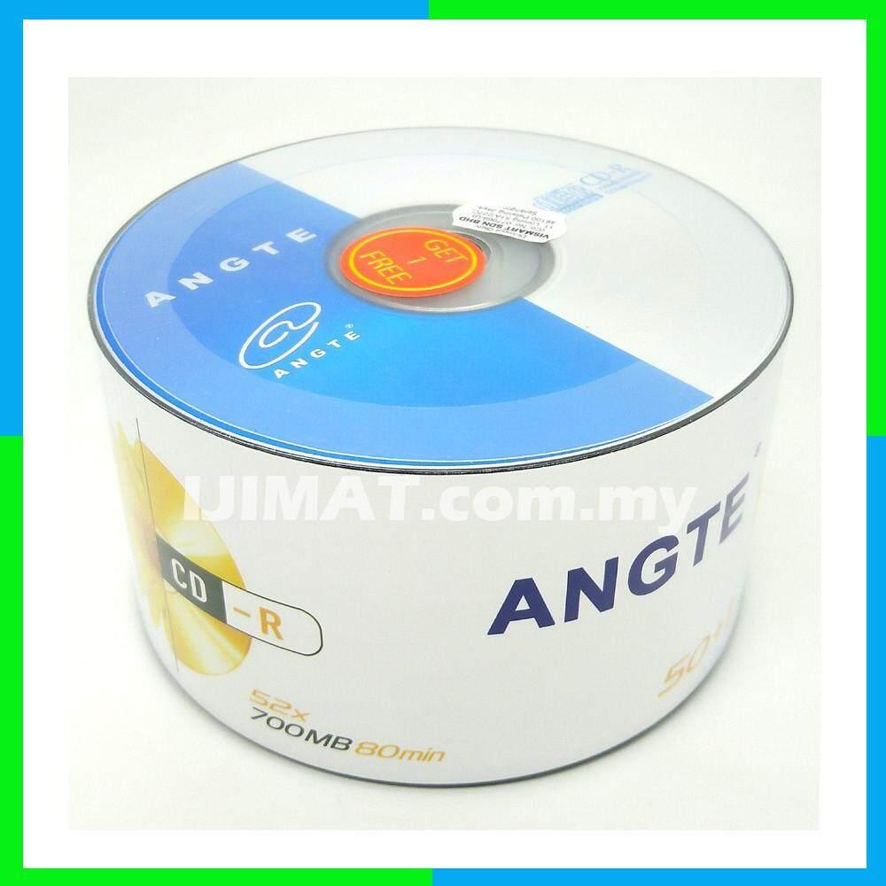 50Pcs + Free 1Pcs Angte CD-R 52X 700mb 80min CDR CD R CD Disc