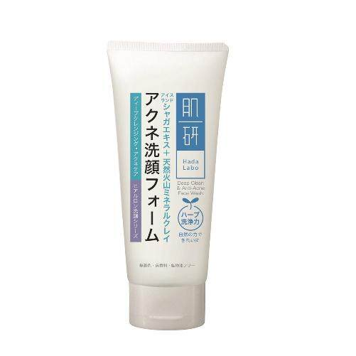 Hada Labo Deep Clean With Blemish Control Face Wash 100g