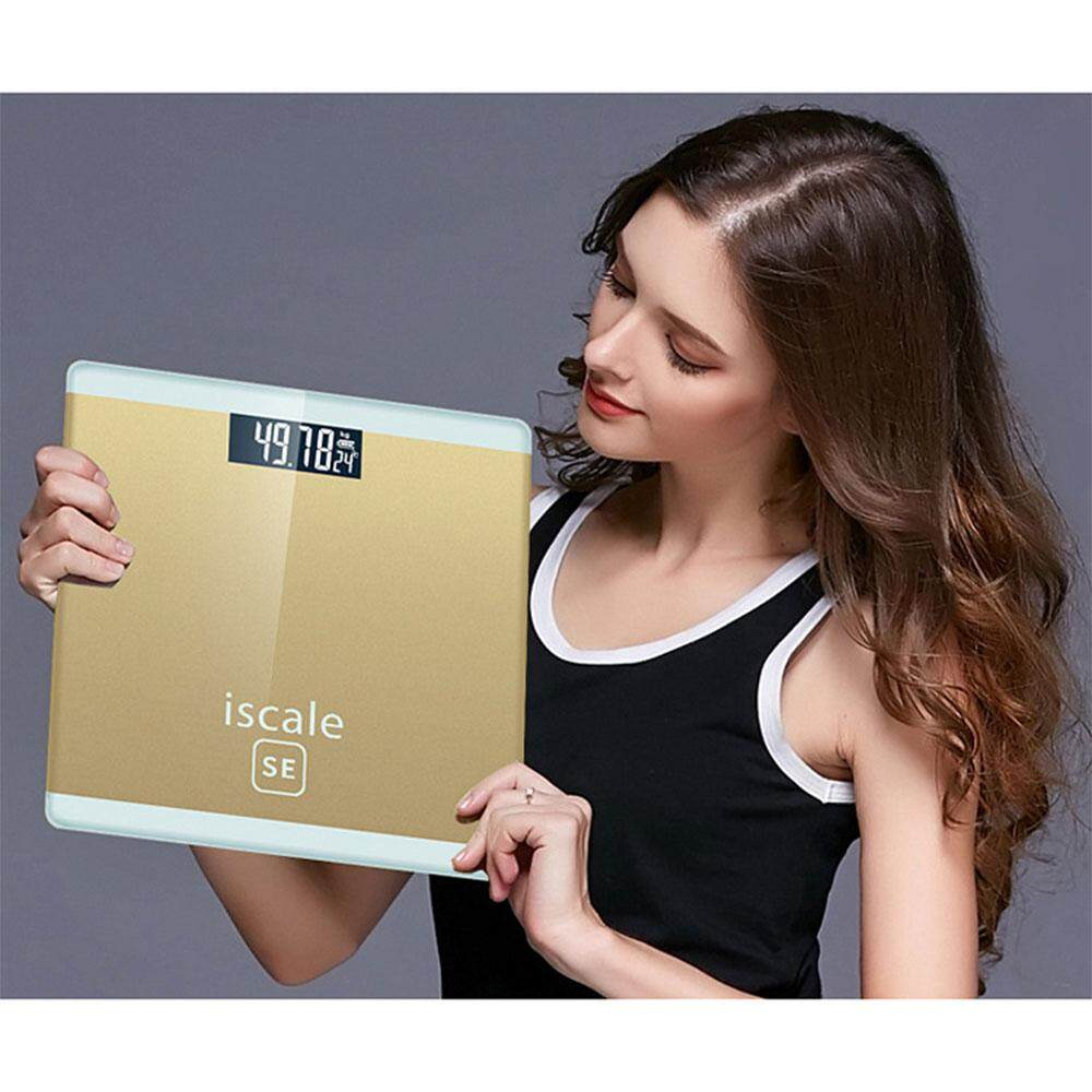 Delly Professional I scale Weight MACHINE SE Digital Body Scale High Accuracy Scale Gold SED-GD