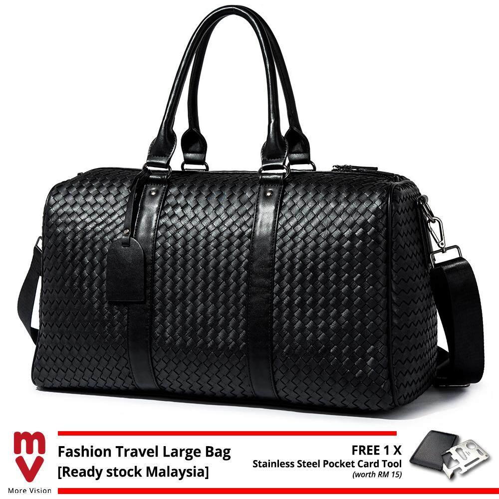 MV Bag Leather Travel Bag Large Sling Shoulder Messenger Trendy Gym Casual Design Hand Carry Beg Business MI5531