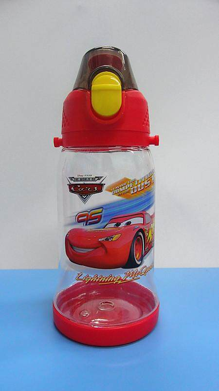 450ML Cartoon Water Bottle Drinking Bottle BPA Free Water Tumbler (BGJAYA)-McQueen Cars