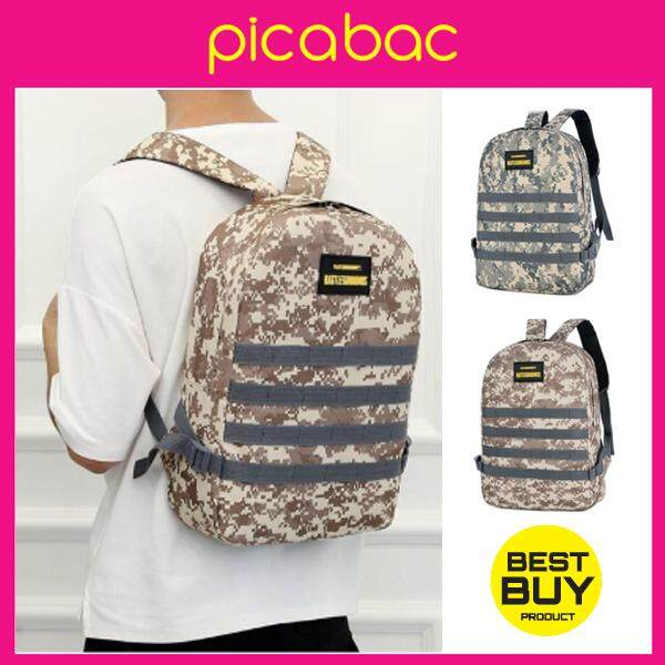 Picabac Tactical Outdoor Sports Backpack PUBG Bag Army Como Backpack PACHB-BM0001