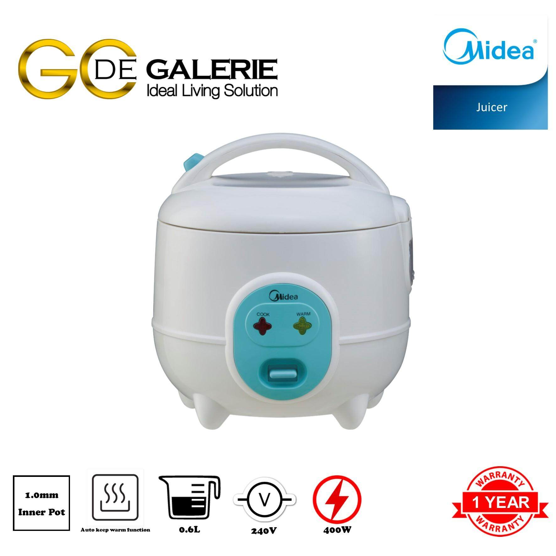MINI JAR RICE COOKER MIDEA MR-CM06SB 0.6L BLUE