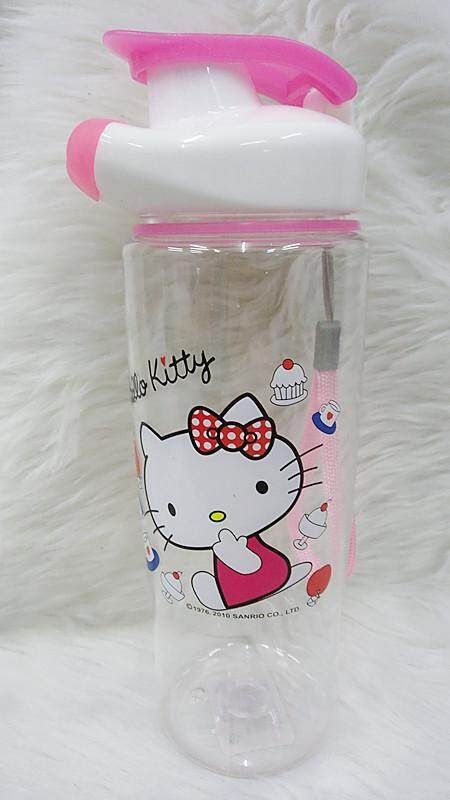 700ML Cartoon Water Bottle Kids Drinking Bottle BPA Free (BGJAYA)-Hello Kitty