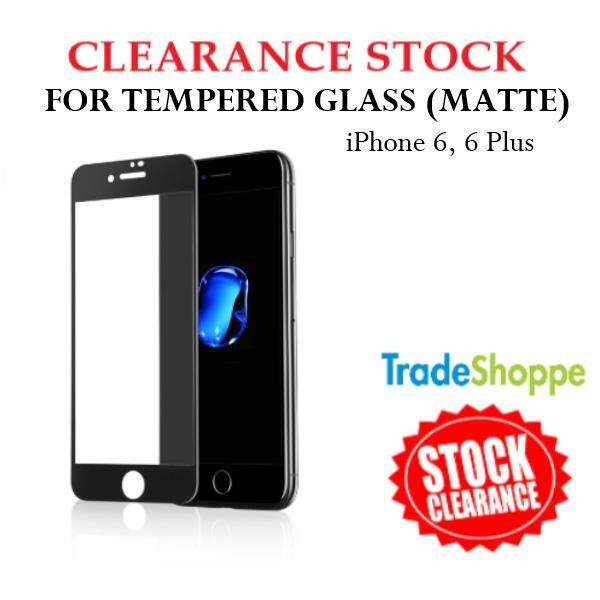 [CLEARANCE STOCK] Tempered Glass for iPhone 6 & 6 Plus - 2.5D Thickness 0.26mm