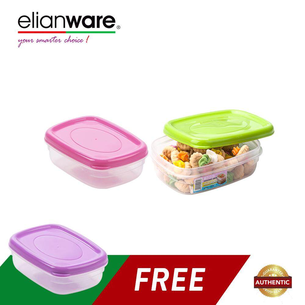 Elianware (BUY 2 FREE 1) Sambal Chilli Sauce BPA FREE Food Keeper