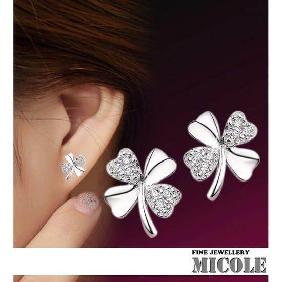 Micole E5007 Korean Style Women Elegant Earrings