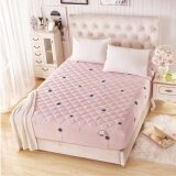 [150cm x 200cm ]: Home Sweet Home Collection 3pcs Polyester Queen Size Fitted Bed Sheet Without Pillowcase