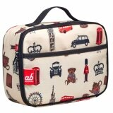 ab New Zealand London Iconic Insulated Aluminium Foil Quality Lunch Bag