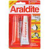 Araldite 5 Minutes Rapid Epoxy Adhesive Glue (Red White) 15ml