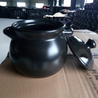 Baby stew soup crock hot pot earthenware pot