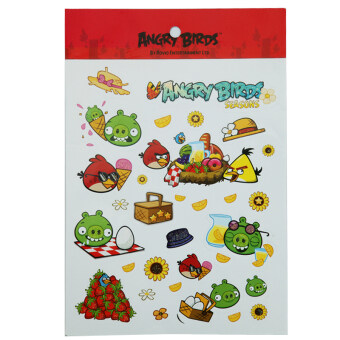 Extensive ab5418 Angry Birds sticker stickers