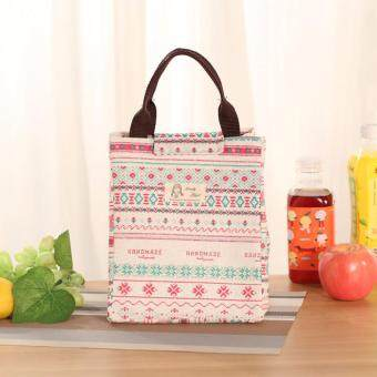 Fashion Heat Preservation Lunch Bag Insulated Thermal FoodContainer Lunchbox Case Children Kids School Bento Box Storage Bag