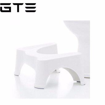 GTE Most Ergonomic Bathroom Toilet Stool - Recommended for All Ages - One Size Fits All Toilets
