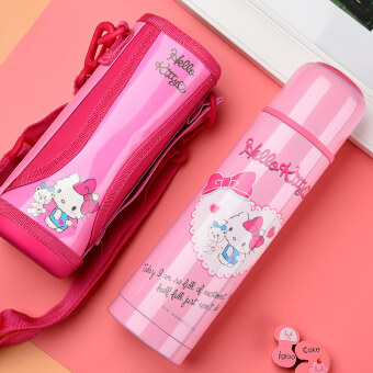 Hello kitty/Hello Kitty cat is not stainless steel bullet mugportable-Popular Brands female student children's thermal pot